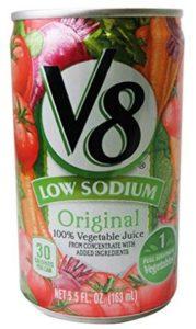 キャンベル V8野菜ジュース 減塩タイプ